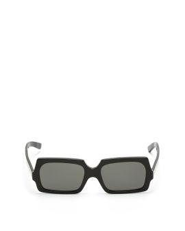 Rectangle frame sunglasses