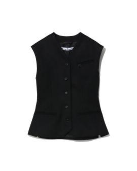 Fitted suit vest
