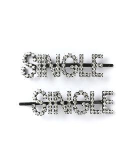 Single crystal hair clip