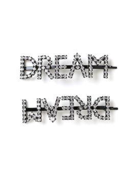 Dream crystal hair clip