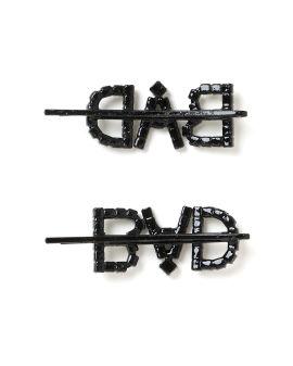 Bad crystal hair clip