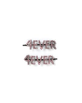 4EVER crystal hair clips