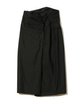 High-rise zip-up skirt