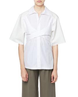 Wrap tie shirt
