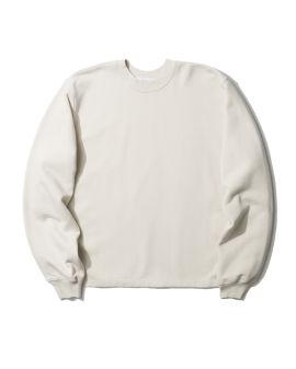 Side zip logo sweatshirt