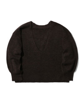 V-neck relaxed sweater