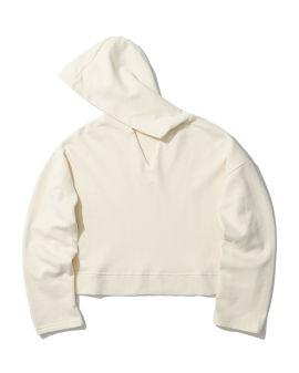 V-neck hoodie