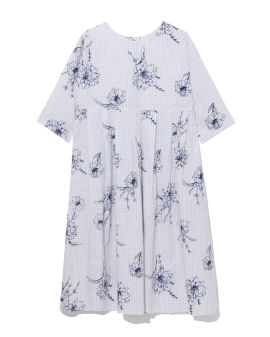 All-over printed dress
