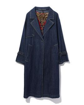 Denim overcoat