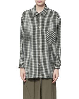 Check oversized shirt