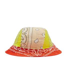 Bandana pattern bucket hat