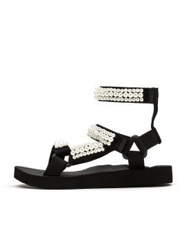 Trekky double ankle pearl sandals