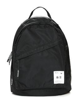"""""""B/2"""" label satin backpack"""