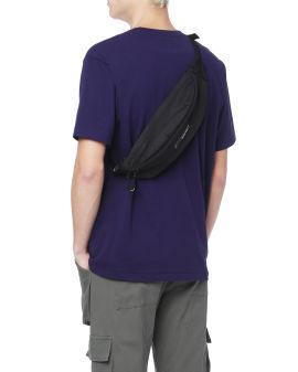 Logo patch waistbag