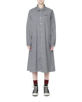 Cocoon shirt dress