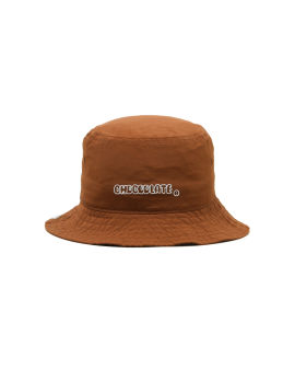 Logo embroidered bucket hat