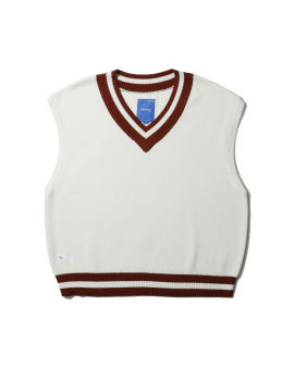 College knitted vest