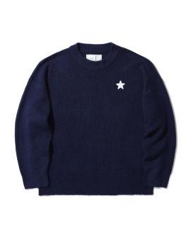 Star badge sweater