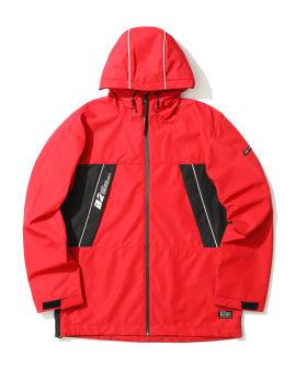 Piped logo jacket