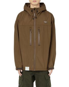 Chest zip-up light jacket