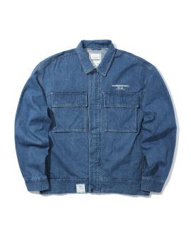 Worker chest pocket jacket