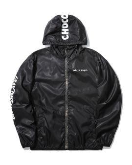 Logo windbreaker jacket
