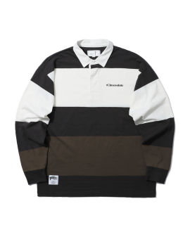 Logo rugby polo shirt