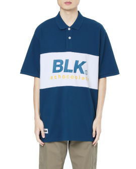 BLK loose polo shirt