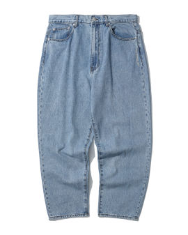 Washed loose leg jeans
