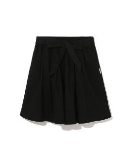 Waist tie skirt