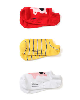 Character ankle sock set - 3 pack