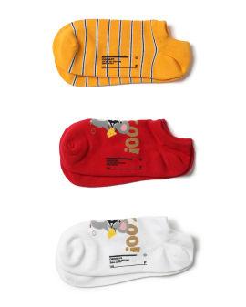Mouse intarsia socks - 3 pack
