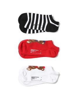 Teddy socks - 3 pack