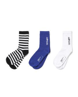 White Dept socks - 3 pack
