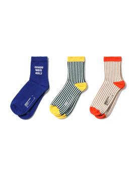 Logo sock set -- 3 packs