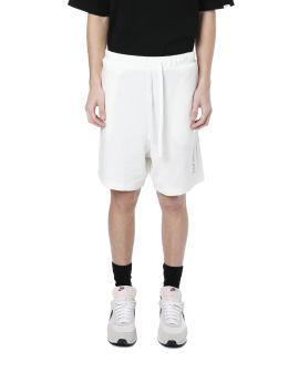 Vertical logo sweat shorts