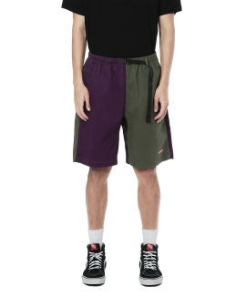 X Gramicci contrast panelled shorts