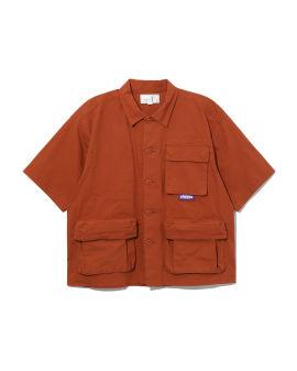 Poplin worker shirt