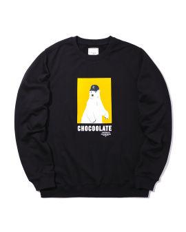 Polar bear print sweatshirt