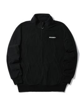 Fleece anorak sweatshirt