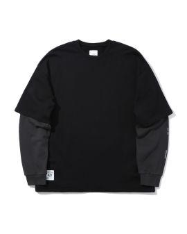 Layered sweatshirt