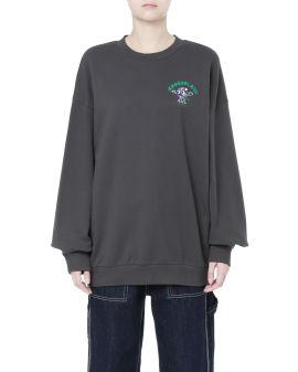 Earth print sweatshirt