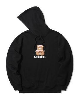 Bear emblem hoodie