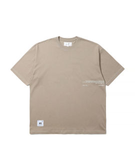 Middle small wording loose tee