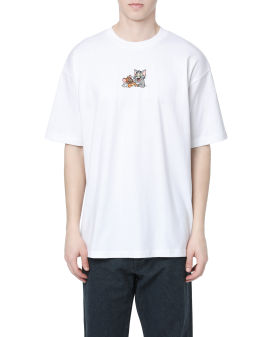 X Tom & Jerry Characters embroidered tee