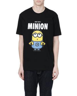 X Minions Character print tee
