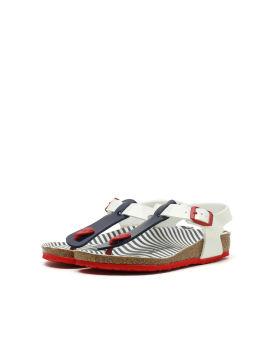 Kairo Nautical Stripes Birko-Flor sandals