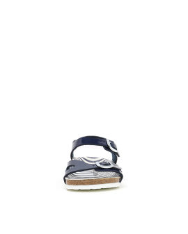 Rio Nautical Stripes Birko-Flor sandals