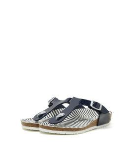Gizeh Nautical Stripes Birko-Flor sandals