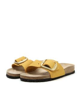 Madrid Big Buckle nubuck sandals